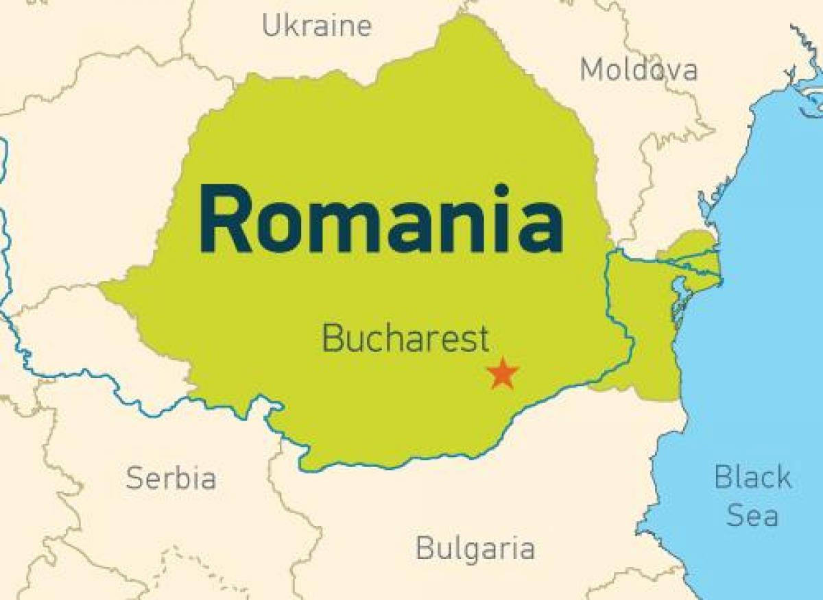 מעולה בוקרשט על המפה - בוקרשט על המפה (רומניה) UW-45