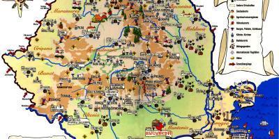 מודיעין בוקרשט מפה - מפות בוקרשט (רומניה) OD-06