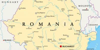 ניס בוקרשט מפה - מפות בוקרשט (רומניה) AQ-87